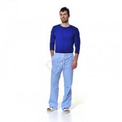 Pánské kalhoty s gumou a šňůrkou v pase