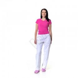 Dámské kalhoty s členícím švem
