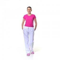 Dámské kalhoty s gumou a šňůrkou v pase