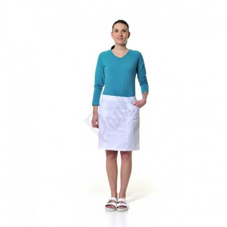 Dámská sukně s členícími švy